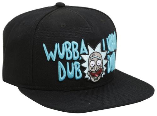 Rick & Morty Wubba Lubba Dub Dub Snapback Cap