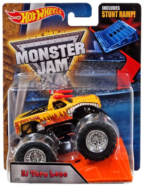 Hot Wheels Monster Jam El Toro Loco Diecast Car [Stunt Ramp]