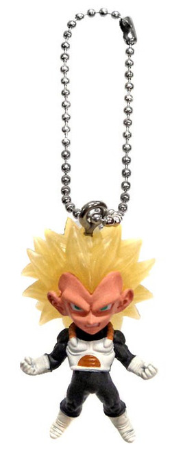 Dragon Ball Super UDM Best 23 SS3 Vegeta 1.5-Inch Keychain Clip-On
