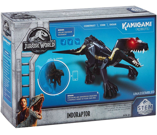 Jurassic World Kamigami STEM Indoraptor Robot Figure [2.4 GHz]
