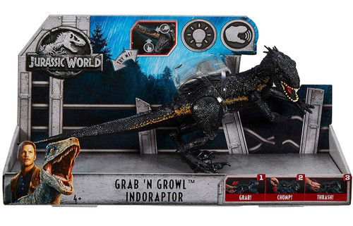 Jurassic World Fallen Kingdom Grab 'N Growl Indoraptor Action Figure [Lights & Sounds]