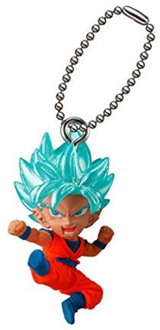 Dragon Ball Super UDM Best 22 Super Saiyan Blue Goku 1.5-Inch Keychain Clip-On [Loose]