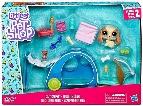Littlest Pet Shop Cozy Camper Mini Playset
