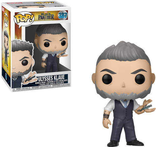 Funko Marvel Universe Black Panther POP! Marvel Ulysses Klaue Vinyl Figure #387