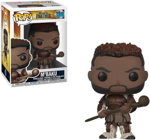 Funko Marvel Universe Black Panther POP! Marvel M'Baku Vinyl Figure #388