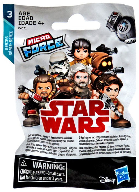 Star Wars Micro Force Series 3 Mystery Pack