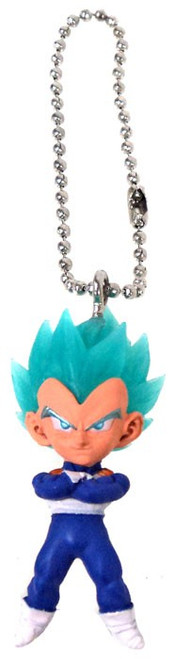Dragon Ball Super UDM Best 22 Super Saiyan Blue Vegeta 1.5-Inch Keychain Clip-On