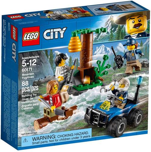 LEGO City Mountain Fugitives Set #60171 [Damaged Package]
