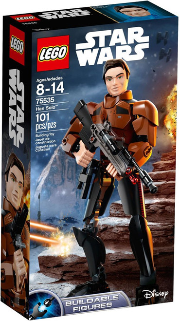 LEGO Star Wars Buildable Figure Han Solo Set #75535