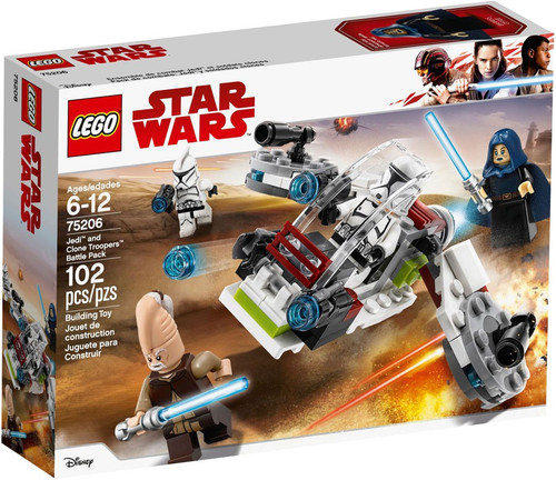 LEGO Star Wars Jedi & Clone Troopers Battle Pack #75206
