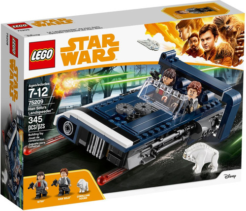 LEGO Solo A Star Wars Story Han Solo's Landspeeder #75209
