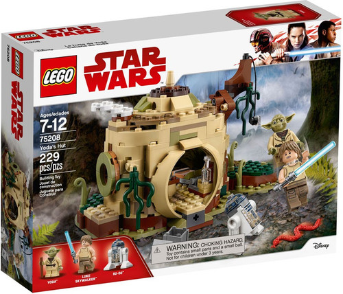 LEGO Star Wars Yoda's Hut #75208