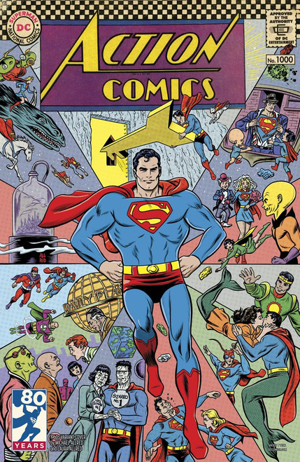 DC Action Comics #1000 Comic Book [1960s Variant]