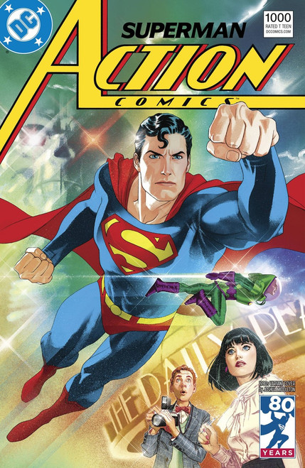 DC Action Comics #1000 Comic Book [1980s Variant]