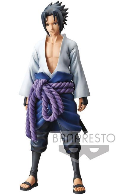 Naruto Shippuden Grandista Shinobi Relations Sasuke Uchiha 10.6-Inch Collectible PVC Figure [Version 1]