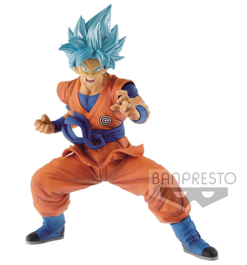 Dragon Ball Super Heroes Trascendence Art Super Siayan Blue Son Goku 7.1-Inch Collectible PVC Figure