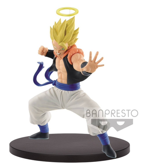 Dragon Ball Z World Figure Colosseum Super Saiyan Gogeta 5.1-Inch Collectible PVC Figure [Fusion Reborn]
