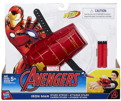 Avengers Iron Man Stark Strike Gear Roleplay Toy