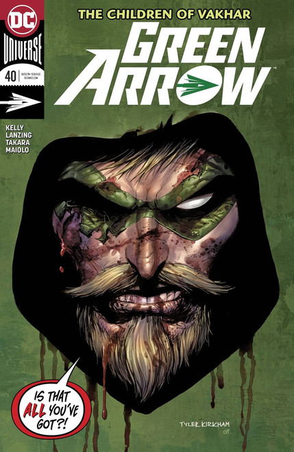 DC Green Arrow #40 Comic Book