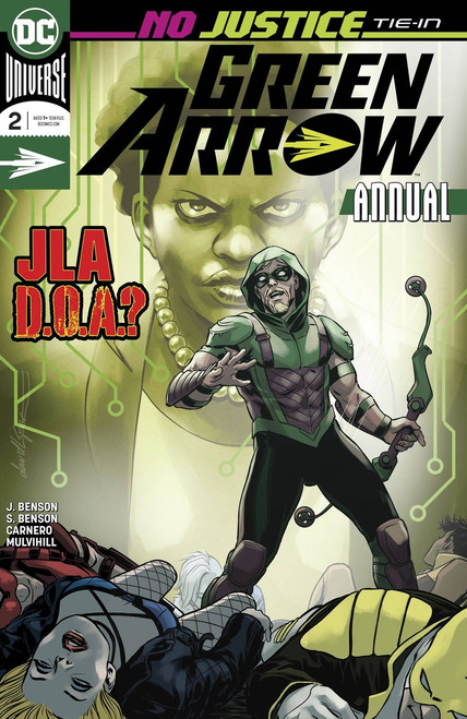 DC Green Arrow #2 Annual Comic Book