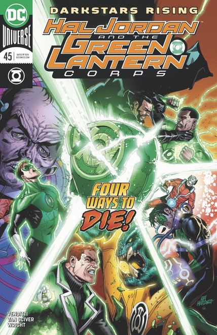 DC Hal Jordan and The Green Lantern Corps #45 Comic Book