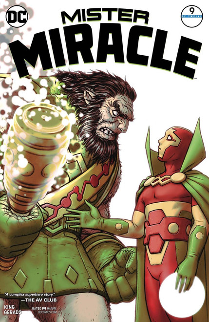 DC Mister Miracle #9 Comic Book