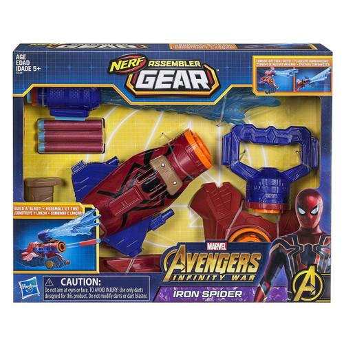 Marvel Avengers Infinity War Nerf Iron Spider Assembler Gear