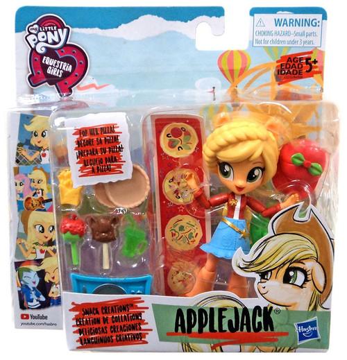 My Little Pony Equestria Girls Applejack Snack Creations 4.5-Inch Figure