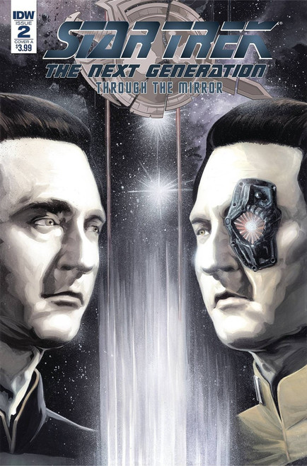 IDW Star Trek The Next Generation #2 Through the Mirror Comic Book [Cover A]