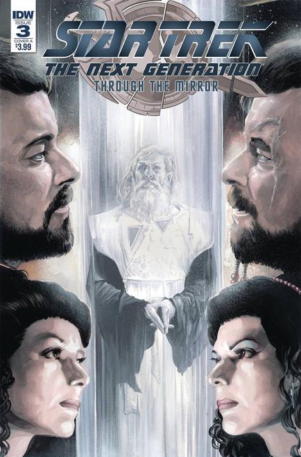 IDW Star Trek The Next Generation #3 Through the Mirror Comic Book [Cover A]