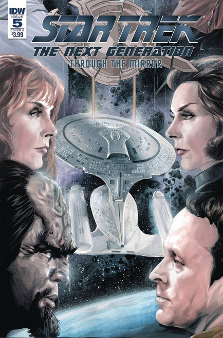 IDW Star Trek The Next Generation #5 Through the Mirror Comic Book [Cover A]