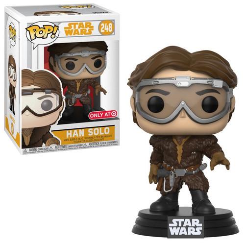 Funko Solo A Star Wars Story POP! Star Wars Han Solo Exclusive Vinyl Bobble Head #248 [Goggles]