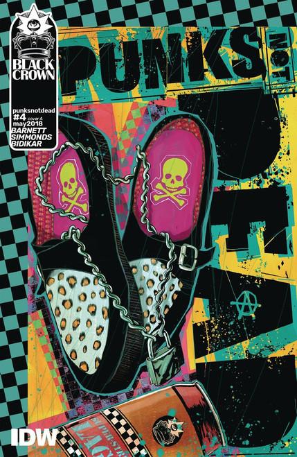 IDW Punks Not Dead #4 Comic Book