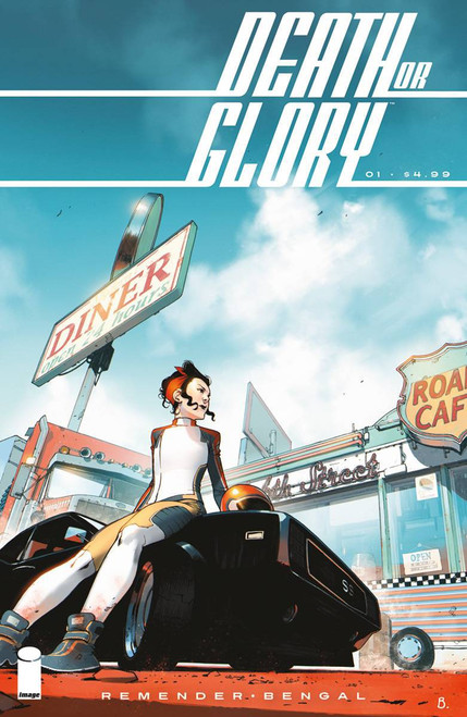 Image Comics Death or Glory #1 Comic Book