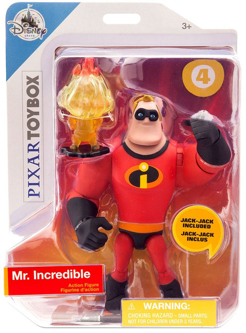 Disney / Pixar Incredibles 2 Toybox Mr. Incredible Exclusive Action Figure