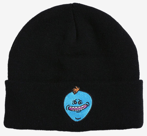 Rick & Morty Mr. Meeseeks Exclusive Beanie Hat