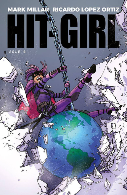 Image Comics Hit-Girl #4 Comic Book [Cover A Reeder]