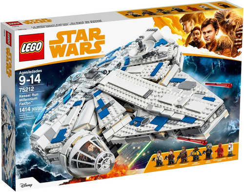 LEGO Star Wars Solo Kessel Run Millennium Falcon #75121