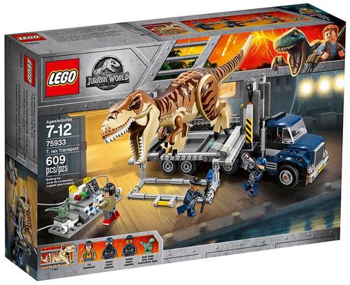 LEGO Jurassic World T. Rex Transporter Set #75933