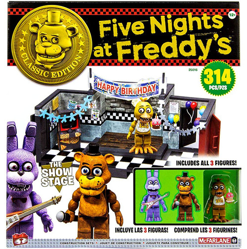 McFarlane Toys Five Nights at Freddy's Classic Series Show Stage Large Construction Set [New & Improved]
