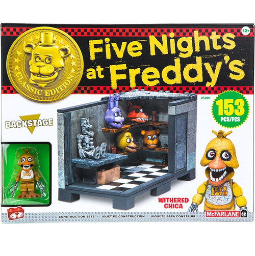 McFarlane Toys Five Nights at Freddy's Classic Series Backstage Medium Construction Set [New & Improved]