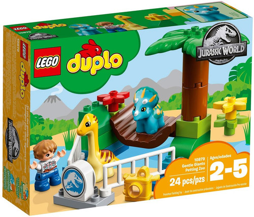 LEGO Jurassic World Duplo Gentle Giants Petting Zoo Set #10879