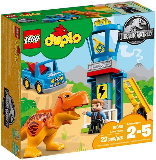 LEGO Jurassic World Duplo T. Rex Tower Set #10880