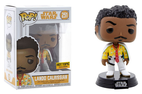Funko Solo A Star Wars Story POP! Star Wars Lando Calrissian Exclusive Vinyl Bobble Head #251 [Cape & Tie]
