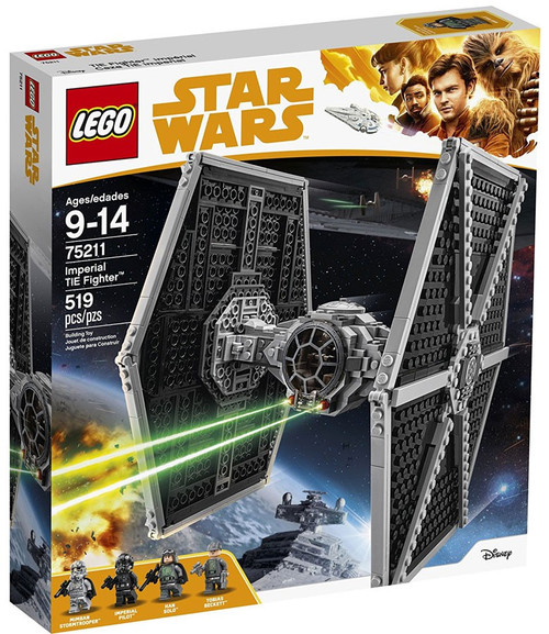LEGO Star Wars Solo Imperial TIE Fighter #75211
