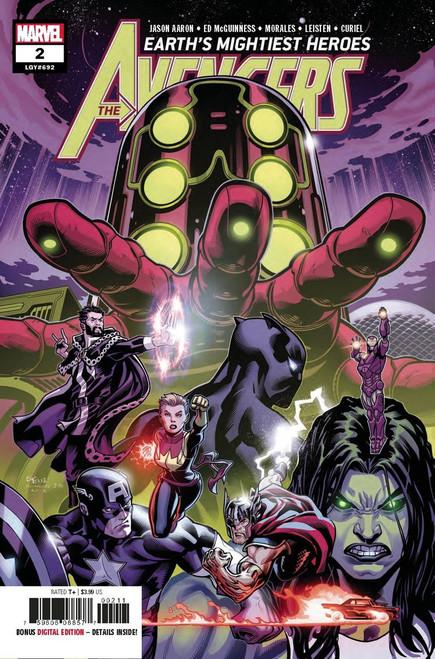 Marvel Comics Avengers #2 Comic Book