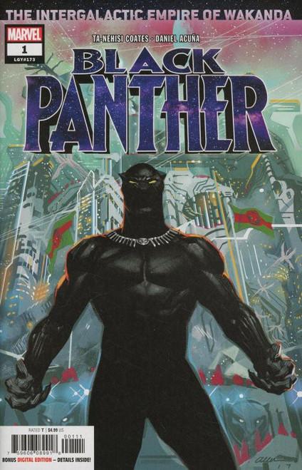 Marvel Comics Black Panther #1 Comic Book