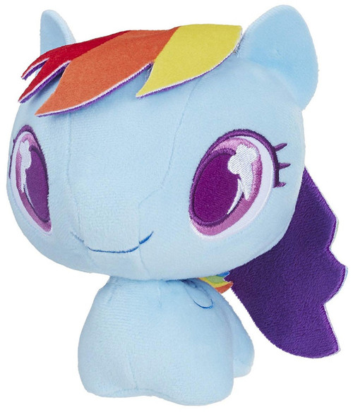My Little Pony Friendship is Magic Cutie Mark Bobbles Rainbow Dash Plush Bobble Head
