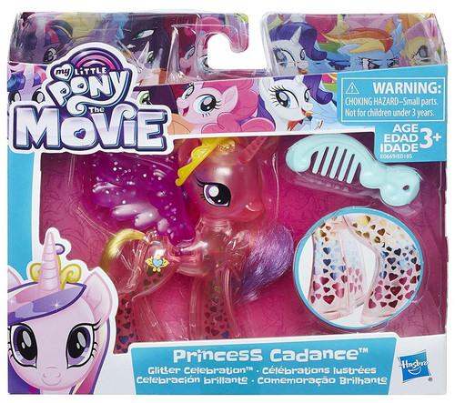 My Little Pony Friendship is Magic Glitter Celebration Princess Cadance Figure Set