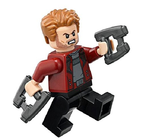 LEGO Marvel Avengers Infinity War Star-Lord Minifigure [with Blasters Loose]